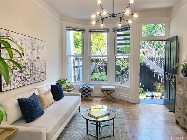 25 Orben Place, San Francisco, CA 94115 (#500555) :: Corcoran Global Living