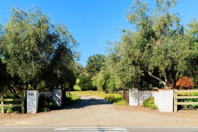 2411 Alamo Pintado Rd, Los Olivos, CA 93441 (MLS #17-1690) :: The Epstein Partners