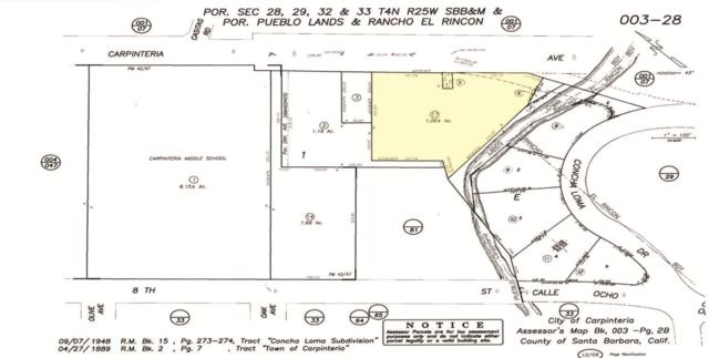 5437-5449 Carpinteria Ave, Carpinteria, CA 93013 (MLS #17-2123) :: The Zia Group