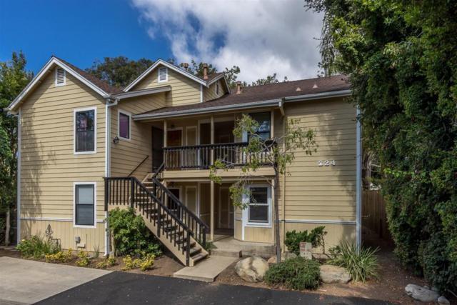 224 W Alamar Ave #3, Santa Barbara, CA 93105 (MLS #17-3160) :: The Zia Group