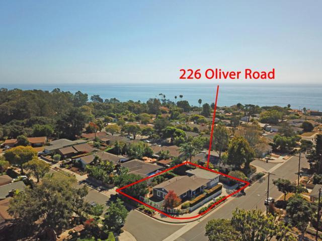 226 Oliver Rd, Santa Barbara, CA 93109 (MLS #17-3505) :: The Zia Group