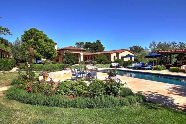 237 San Ysidro Rd, Santa Barbara, CA 93108 (MLS #17-3801) :: The Epstein Partners
