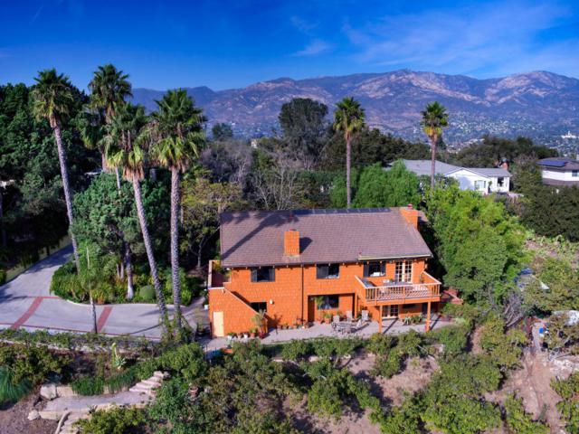 1485 La Cima Rd, Santa Barbara, CA 93101 (MLS #17-3982) :: The Zia Group