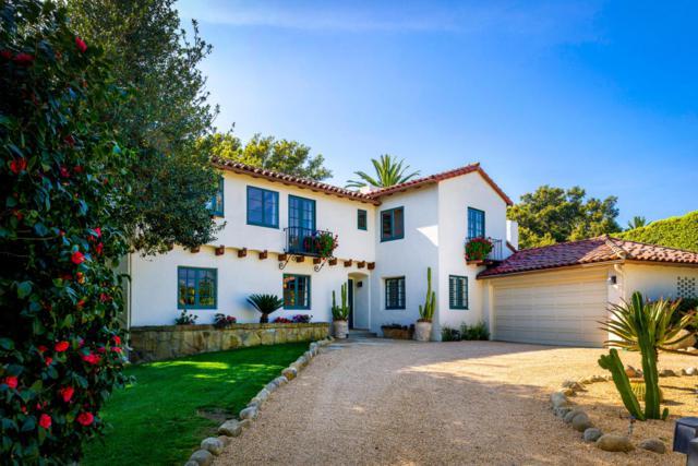 1414 La Vereda Ln, Santa Barbara, CA 93108 (MLS #17-983) :: The Zia Group