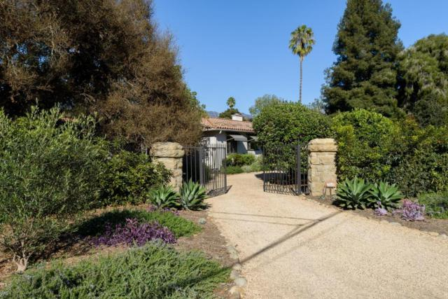 1544 San Leandro Ln, Montecito, CA 93108 (MLS #18-1317) :: Chris Gregoire & Chad Beuoy Real Estate
