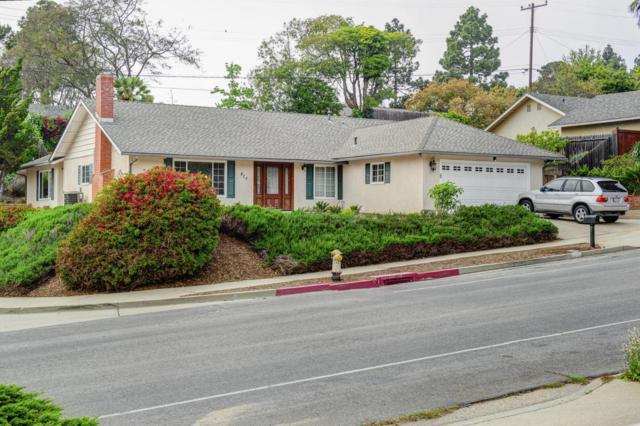 815 Flora Vista Dr, Santa Barbara, CA 93109 (MLS #18-1482) :: Chris Gregoire & Chad Beuoy Real Estate