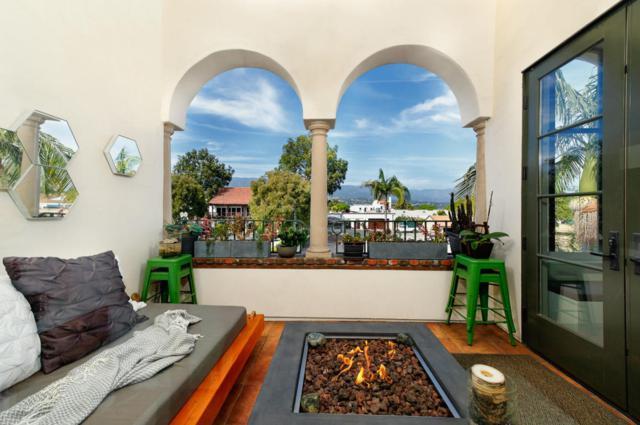 401 Chapala St #206, Santa Barbara, CA 93101 (MLS #18-1650) :: Chris Gregoire & Chad Beuoy Real Estate