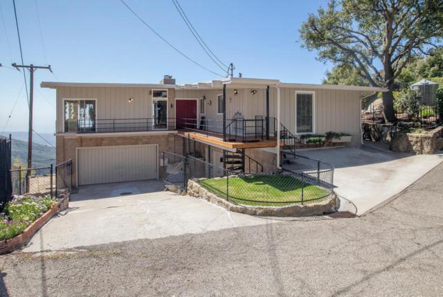 4825 Rim Rd, Santa Barbara, CA 93105 (MLS #18-1736) :: Chris Gregoire & Chad Beuoy Real Estate