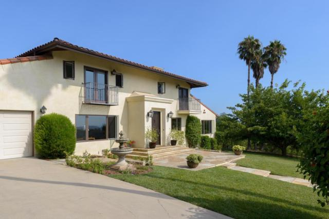 2830 Palomino Ridge Ln, Santa Barbara, CA 93105 (MLS #18-1804) :: Chris Gregoire & Chad Beuoy Real Estate