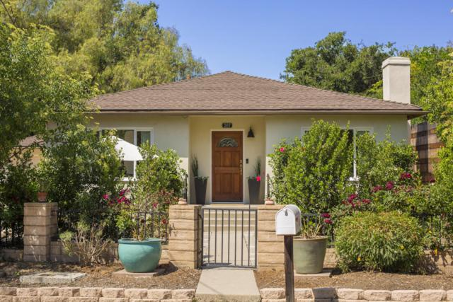 207 Topa Topa Dr, Ojai, CA 93023 (MLS #18-1968) :: Chris Gregoire & Chad Beuoy Real Estate