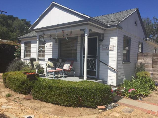 1316 Mountain View Rd, Santa Barbara, CA 93109 (MLS #18-2021) :: Chris Gregoire & Chad Beuoy Real Estate