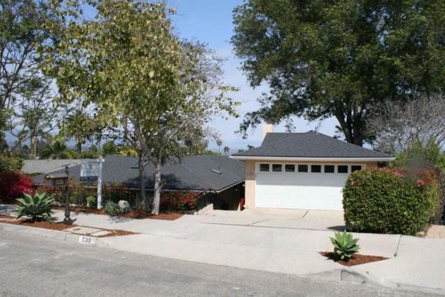 535 La Marina, Santa Barbara, CA 93109 (MLS #18-2084) :: Chris Gregoire & Chad Beuoy Real Estate