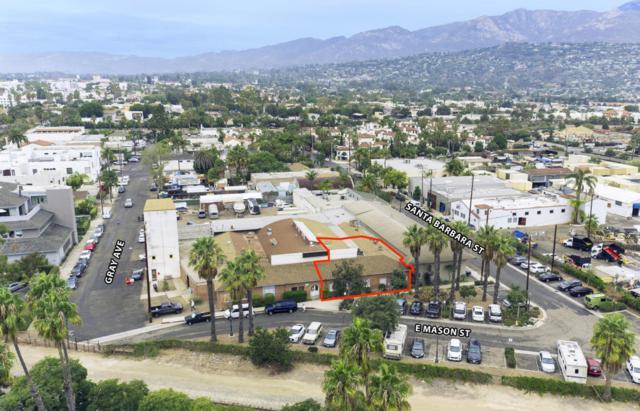 121 E Mason St Suite B, Santa Barbara, CA 93101 (MLS #18-2321) :: The Zia Group