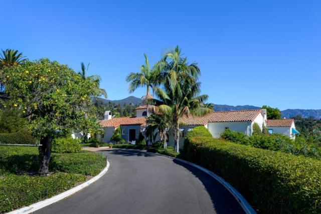 815 Cima Linda Ln, Santa Barbara, CA 93108 (MLS #18-247) :: The Zia Group