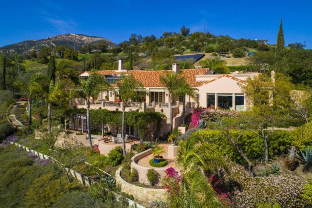 3756 Foothill Rd, Santa Barbara, CA 93105 (MLS #18-2487) :: The Zia Group