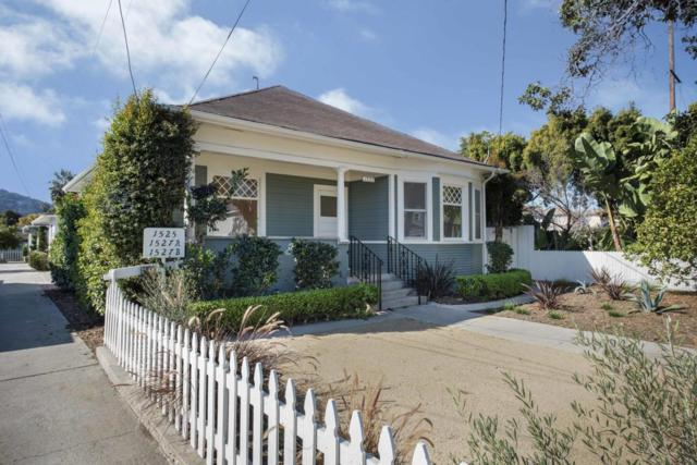 1525-27 San Andres St, Santa Barbara, CA 93101 (MLS #18-2544) :: Chris Gregoire & Chad Beuoy Real Estate