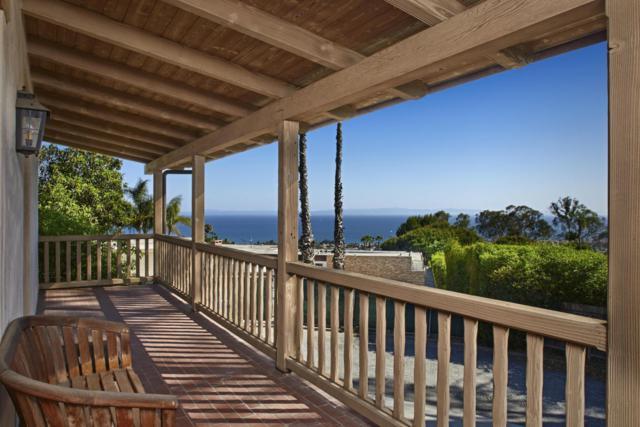 1050 Cima Linda Ln, Santa Barbara, CA 93108 (MLS #18-2715) :: Chris Gregoire & Chad Beuoy Real Estate