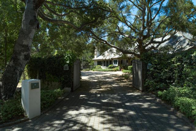 2220 E Valley Rd, Santa Barbara, CA 93108 (MLS #18-3096) :: The Zia Group