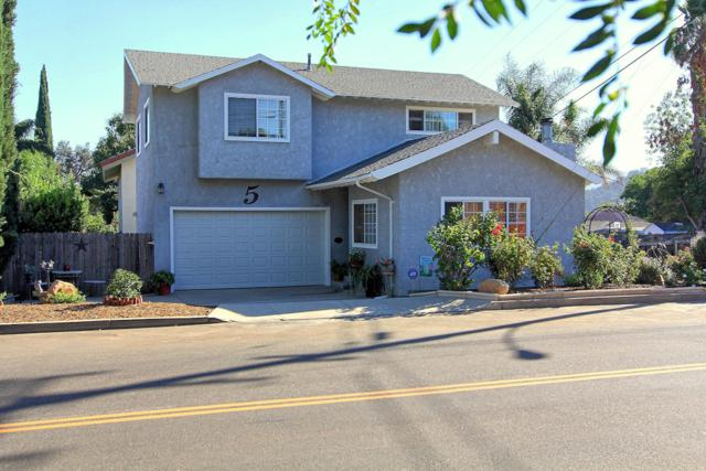 5 Valley Rd, Oak View, CA 93022 (MLS #18-3458) :: The Epstein Partners