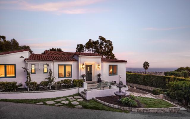 1406 Alameda Padre Serra, Santa Barbara, CA 93103 (MLS #18-4005) :: The Zia Group