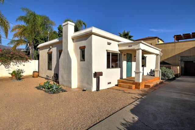 810 E Cota St, Santa Barbara, CA 93103 (MLS #18-4031) :: Chris Gregoire & Chad Beuoy Real Estate