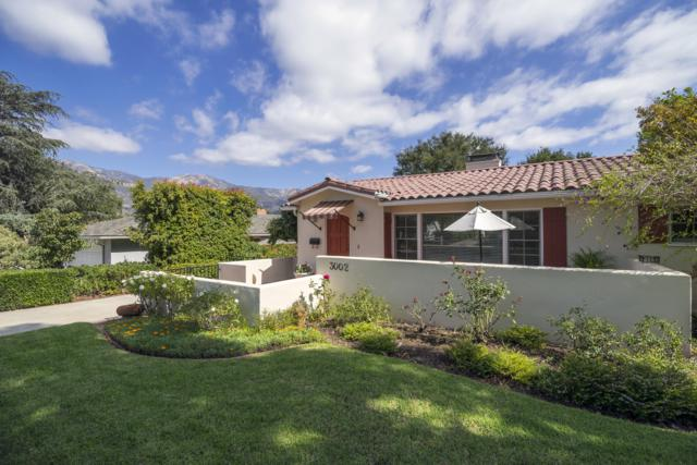 3002 Samarkand Dr, Santa Barbara, CA 93105 (MLS #18-4123) :: Chris Gregoire & Chad Beuoy Real Estate