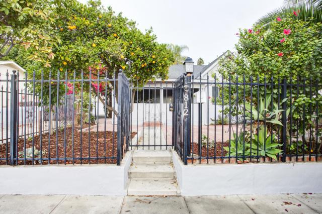 812 Spring St, Santa Barbara, CA 93103 (MLS #18-4192) :: The Zia Group