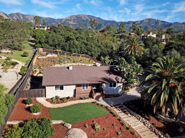 2505 Foothill Ln, Santa Barbara, CA 93105 (MLS #18-4349) :: The Zia Group