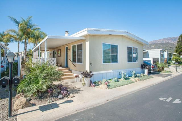3950 Via Real #82, Carpinteria, CA 93013 (MLS #18-589) :: The Zia Group
