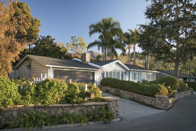 12 Rosemary Ln, Santa Barbara, CA 93108 (MLS #18-889) :: The Zia Group