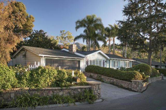12 Rosemary Ln, Santa Barbara, CA 93108 (MLS #18-939) :: The Epstein Partners