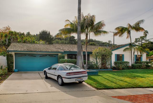 2139 Mountain Ave, Santa Barbara, CA 93101 (MLS #19-115) :: The Zia Group