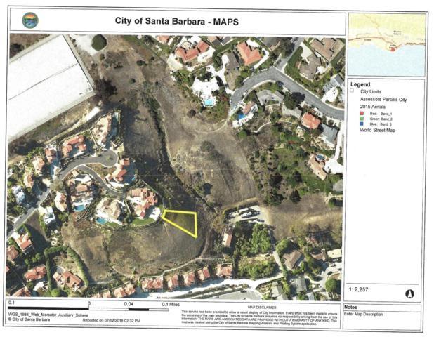 0 La Vista Del Oceano, Santa Barbara, CA 93109 (MLS #19-128) :: Chris Gregoire & Chad Beuoy Real Estate