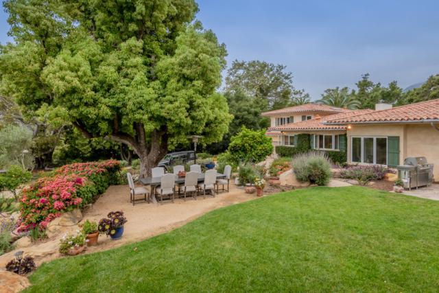 780 Rockbridge Rd, Montecito, CA 93108 (MLS #19-1778) :: Chris Gregoire & Chad Beuoy Real Estate