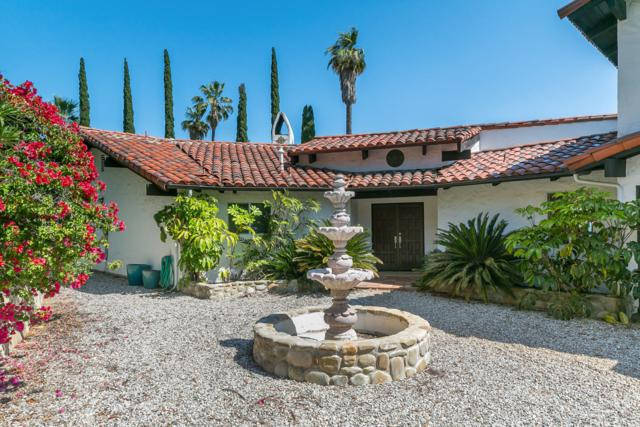 1477 Foothill Rd, Ojai, CA 93023 (MLS #19-2018) :: The Zia Group