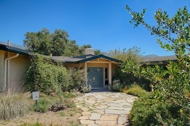 1120 Tunnel Rd, Santa Barbara, CA 93105 (MLS #19-2083) :: The Zia Group