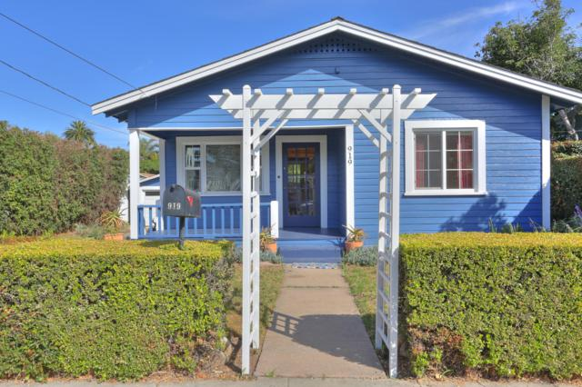 919 E Cota St, Santa Barbara, CA 93103 (MLS #19-2357) :: The Epstein Partners