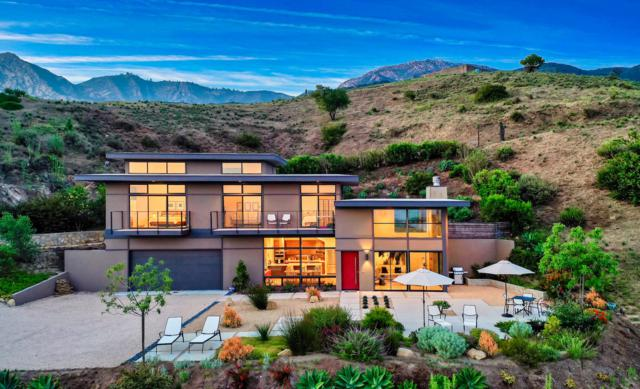 2018 Las Canoas Ridge Way, Santa Barbara, CA 93105 (MLS #19-2531) :: The Zia Group
