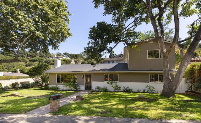 1229 Manitou Rd, Santa Barbara, CA 93101 (MLS #19-2841) :: The Zia Group