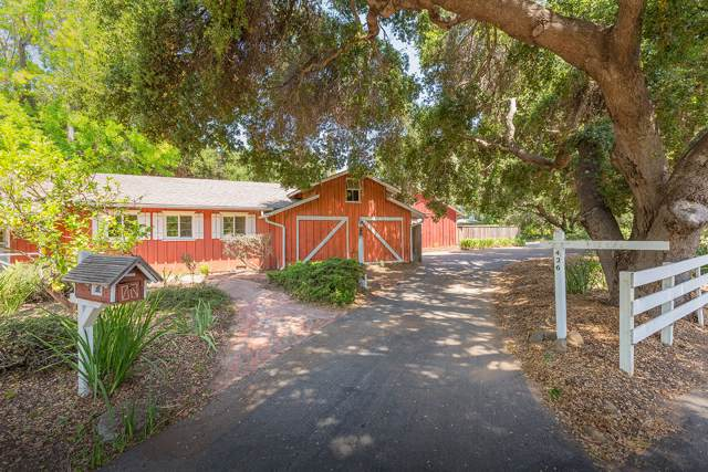 426 N Ontare Rd, Santa Barbara, CA 93105 (MLS #19-2853) :: The Zia Group