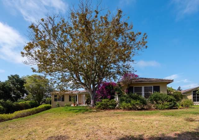 895 Via Hierba, Santa Barbara, CA 93110 (MLS #19-2854) :: Chris Gregoire & Chad Beuoy Real Estate