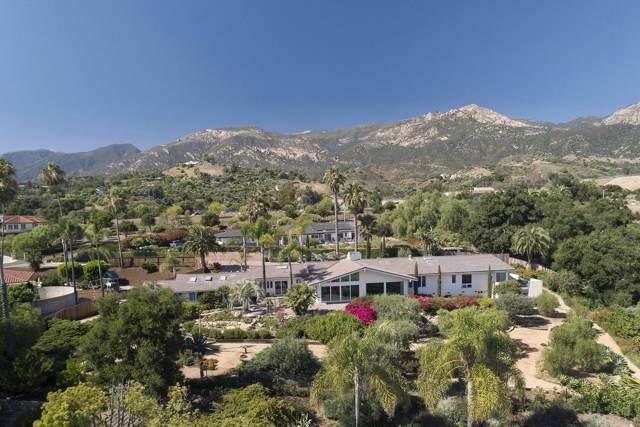 1006 San Roque Rd, Santa Barbara, CA 93105 (MLS #19-2903) :: The Zia Group
