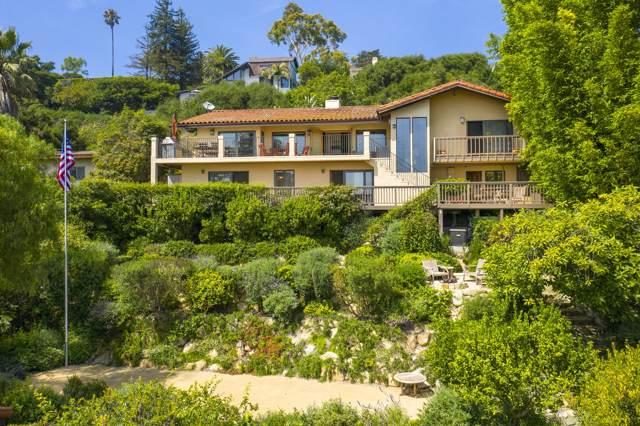 665 Las Alturas Rd, Santa Barbara, CA 93103 (MLS #19-3223) :: The Zia Group