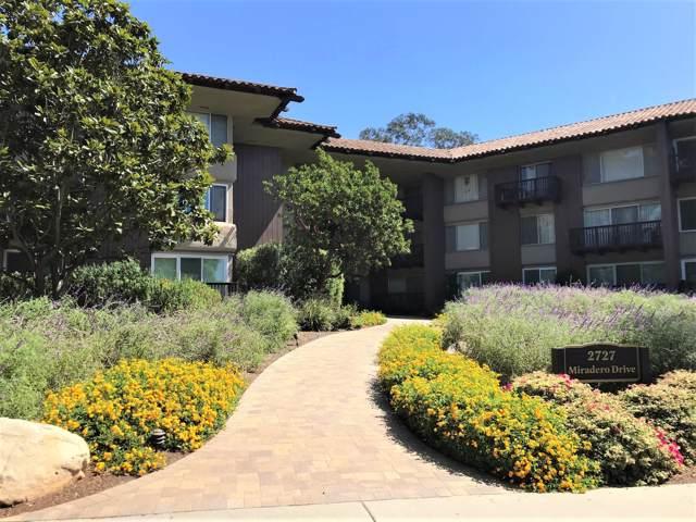 2727 Miradero Dr #201, Santa Barbara, CA 93105 (MLS #19-3232) :: The Zia Group