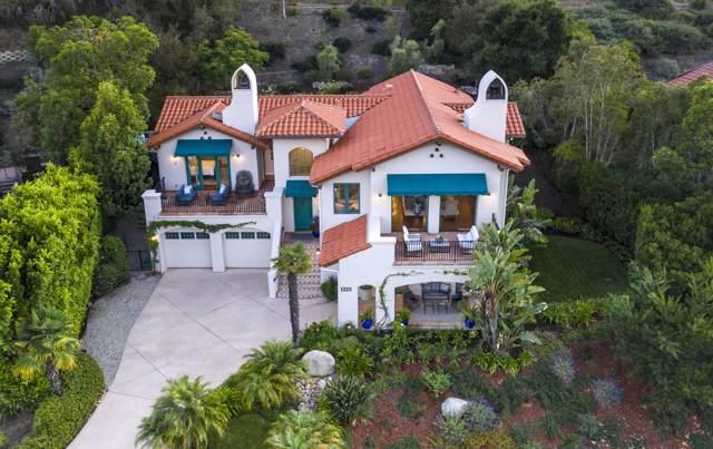 1225 Miracanon Ln, Santa Barbara, CA 93109 (MLS #19-3270) :: The Epstein Partners