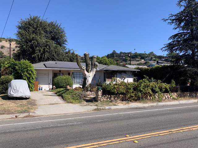 3062 Foothill Rd, Santa Barbara, CA 93105 (MLS #19-3391) :: The Zia Group