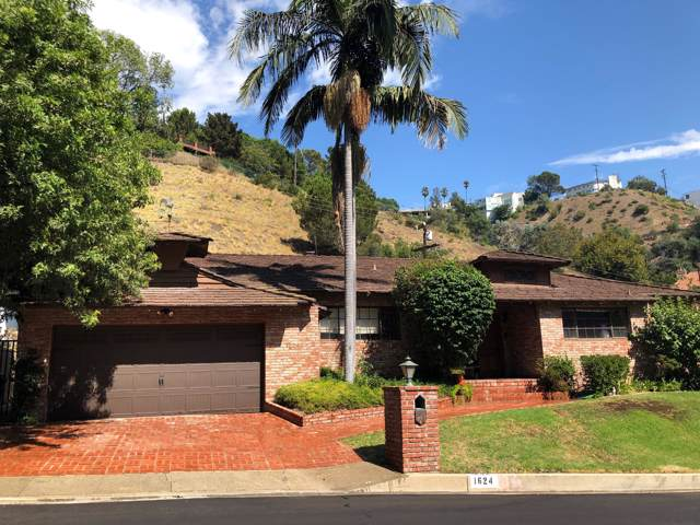 1624 San Ysidro Dr, BEVERLY HILLS, CA 90210 (MLS #19-3445) :: The Zia Group