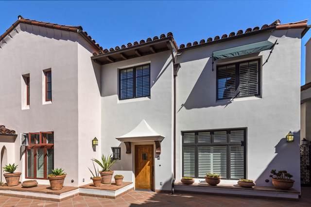 105 W De La Guerra St H, Santa Barbara, CA 93101 (MLS #19-3451) :: The Epstein Partners