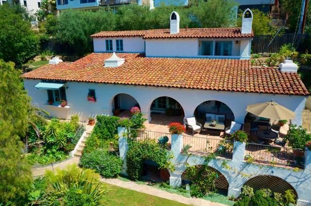 958 Alameda Padre Serra, Santa Barbara, CA 93103 (MLS #19-3474) :: The Zia Group
