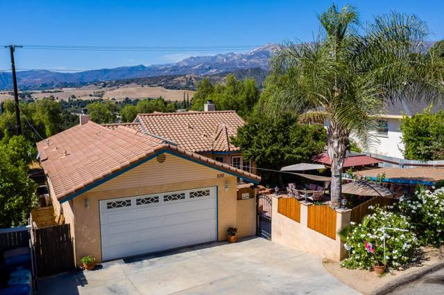 1130 N Ventura Ave, Oak View, CA 93022 (MLS #19-3498) :: The Zia Group